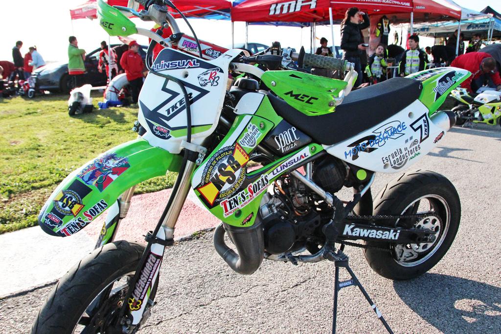 Decoración de las motos Kawasaki KSB SPORT