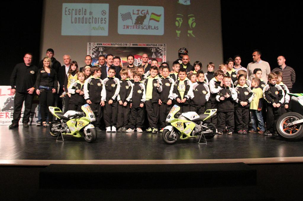 Gran presentación de la temporada 2012 de la escuela de pilotos KSB Sport en Almussafes.