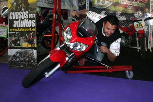 Galería: Los visitantes de MotoMadrid con KSB Sport