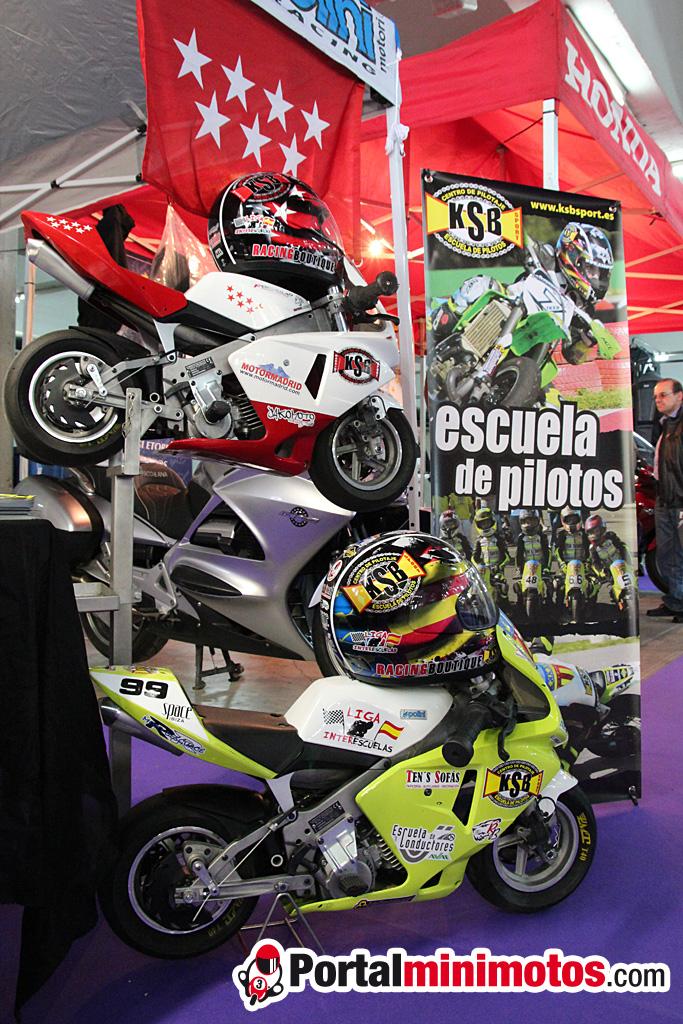 KSB Sport presente en la feria Moto Madrid 2012