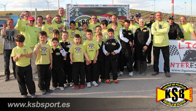 La familia KSB Sport en la segunda carrera de la Liga InterEscuelas