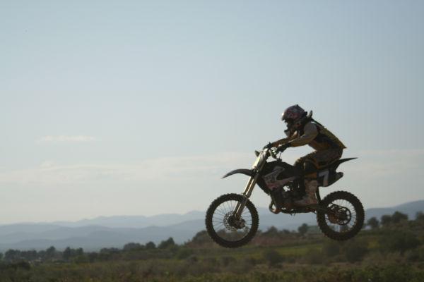 Motocross: entrenamientos de los alumnos