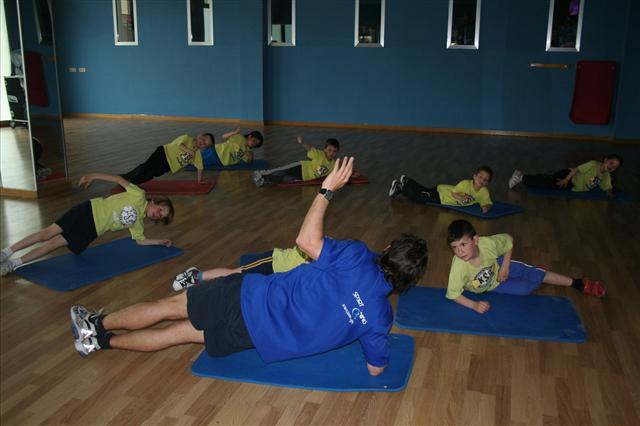 Galería: Los alumnos de KSB Sport en su jornada de preparación física