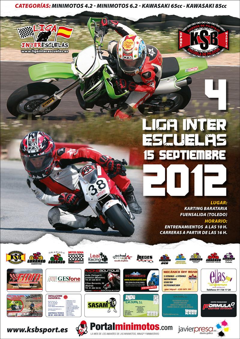 4 Carrera de la Liga Interescuelas 2012