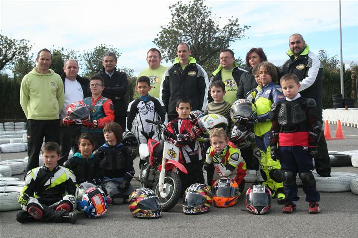 I Torneo de habilidad en moto para niños por AVAE, KSB Sport y FMCV