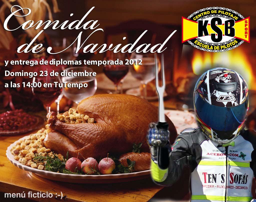 Comida de Navidad y entrega de diplomas temporada 2012 KSB Sport Valencia