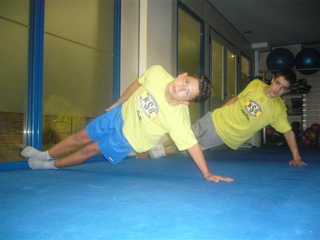 Cada semana la mejor preparación física en el gimnasio Olimpia