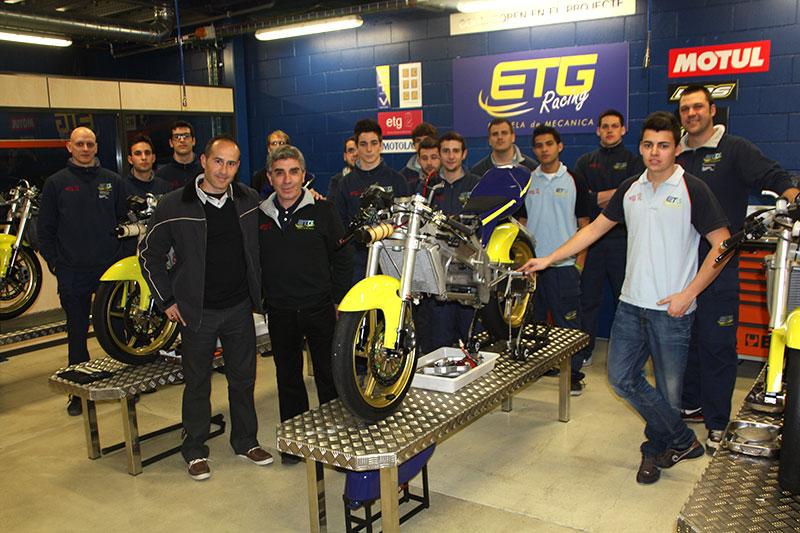 KBS Sport encargada de la preparación técnica del equipo ETG