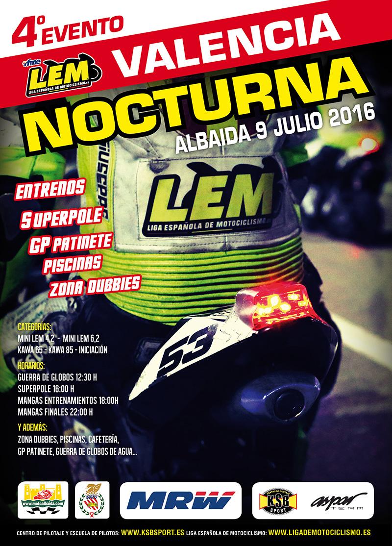 El cuarto evento LEM de la temporada se celebrará en Albaida