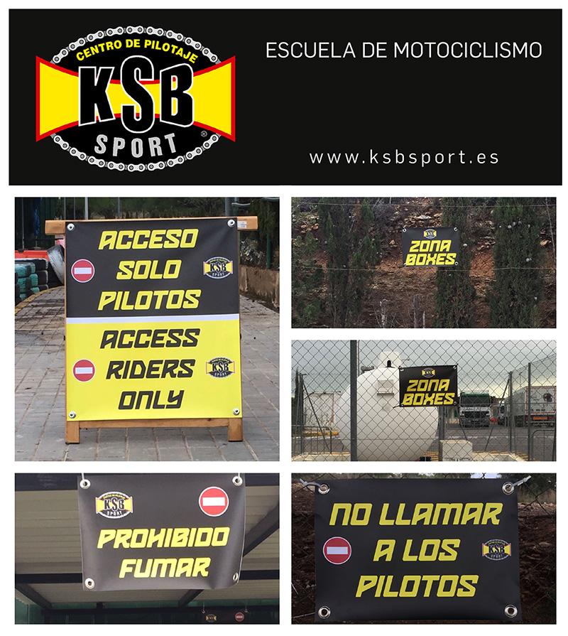 Nueva señalización en las instalaciones de KSB Valencia