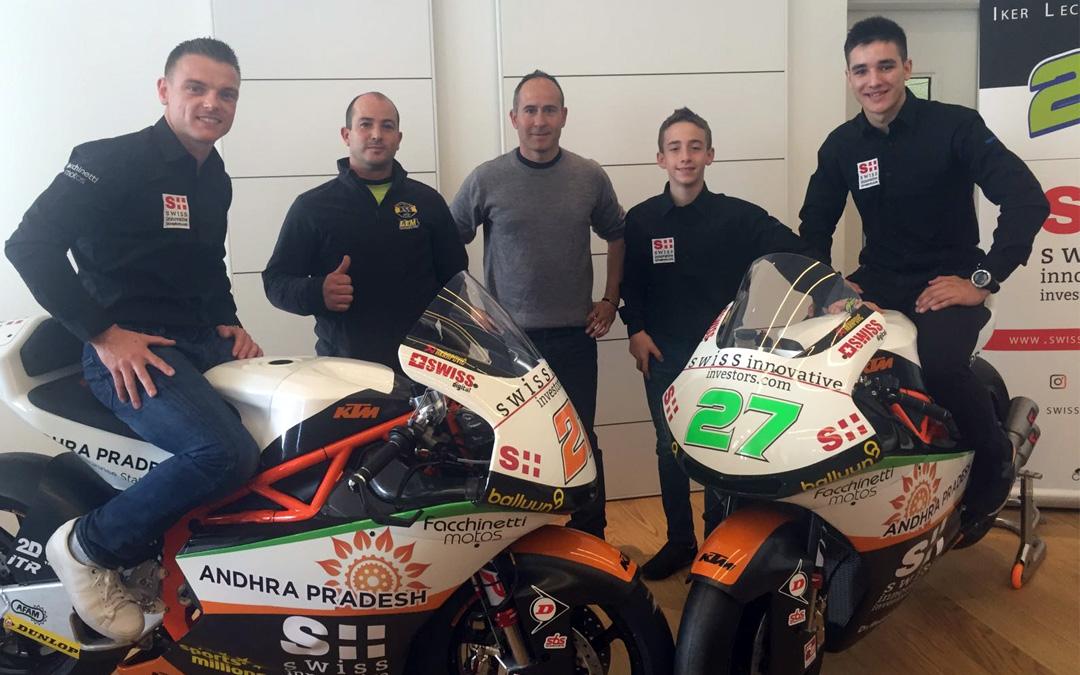 El equipo suizo Swiss confía en la formación de KSB Sport