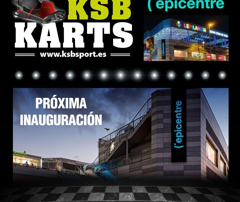 KSB Karts prepara sus nuevas instalaciones de KSB KARTS en el centro comercial (´Epicentre