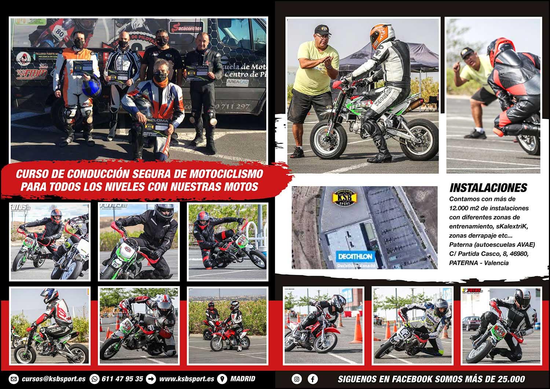 curso de conducción de moto en Madrid